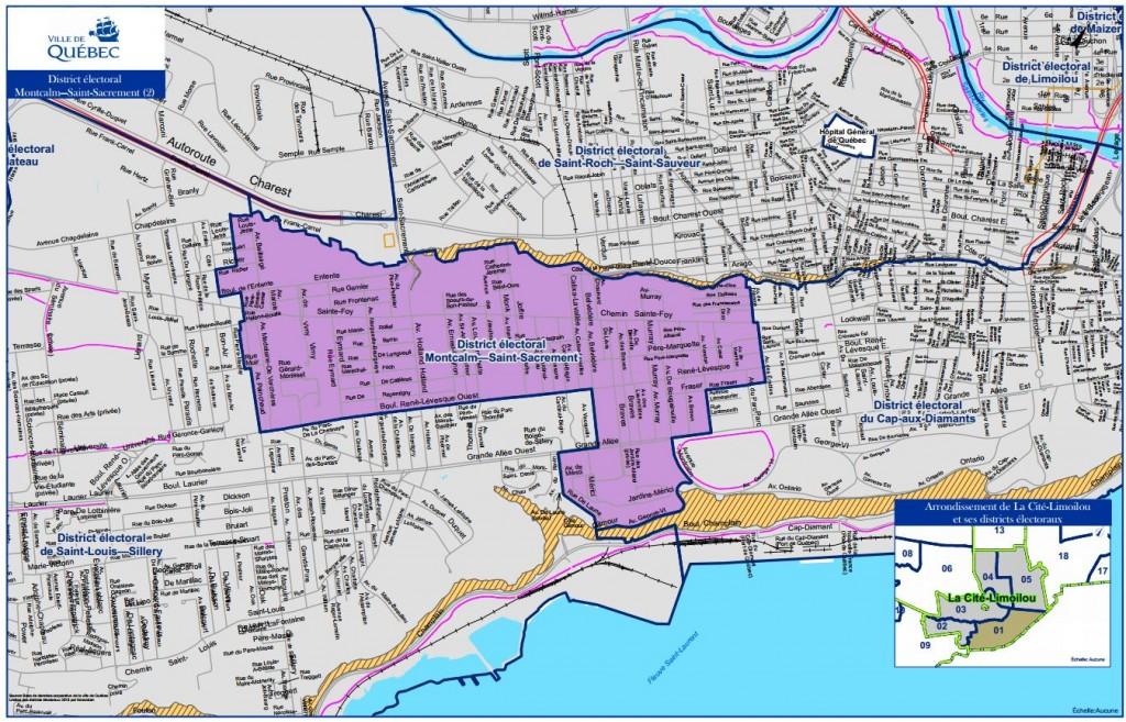 Carte distric électoral