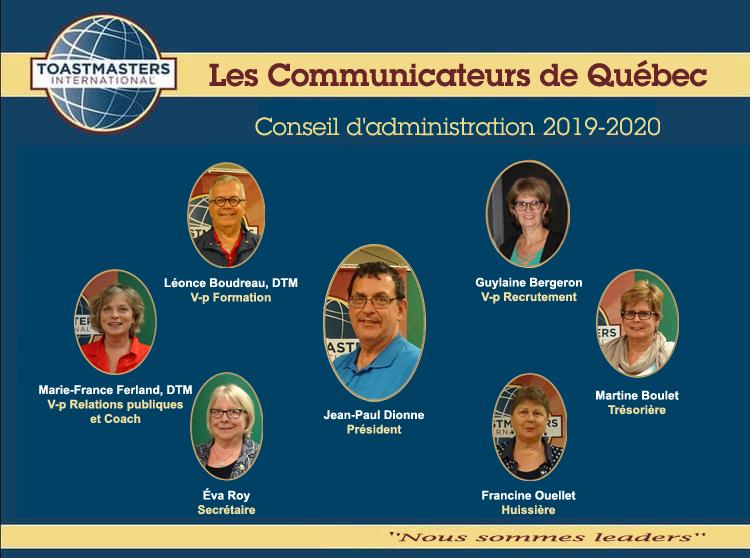 Nous sommes leaders – nouveau slogan pour les Communicateurs de Québec